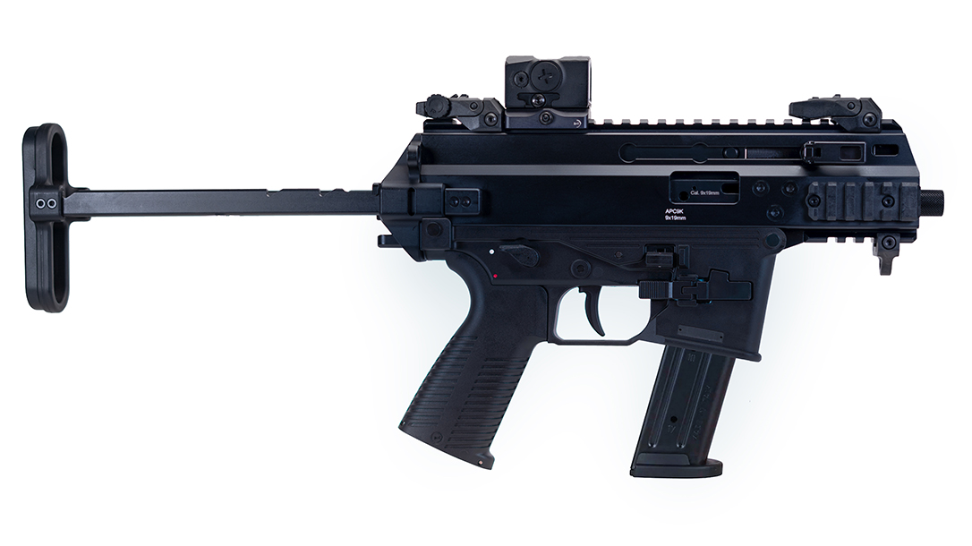 Miami Beach Police recently selected the B&T APC9K Pro with SIG P320 mag compatibility.