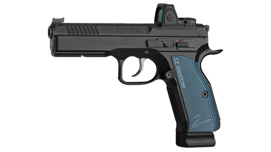 The CZ Shadow 2 Optics-Ready fits the USPSA Carry Optics division.