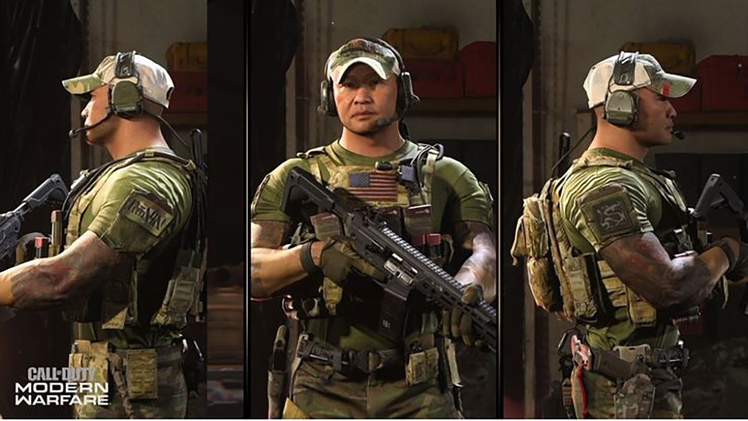 Real Life Operator Tu Lam Joins Call Of Duty Modern Warfare