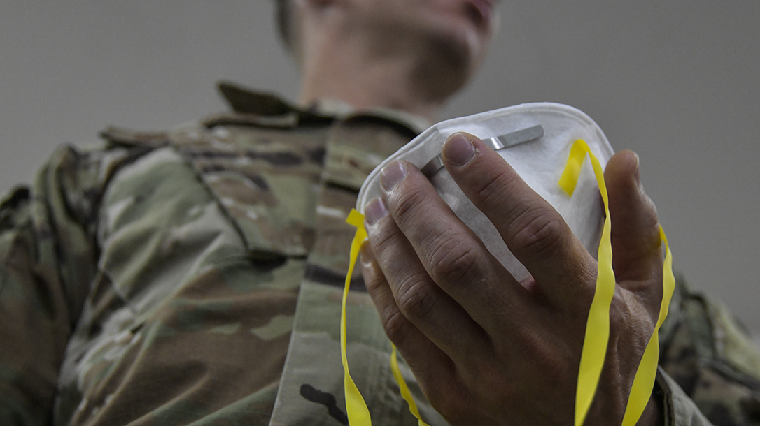 Defense Department increases N95 mask production and authorizes N95 decontamination machines.