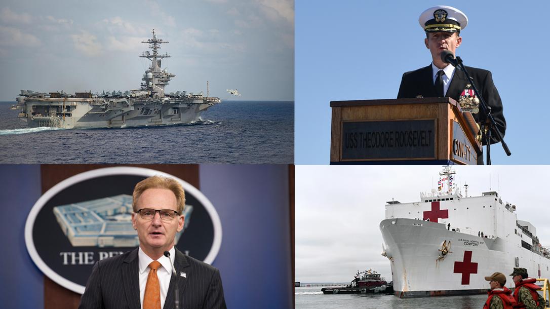 The Navy Coronavirus response has received criticism of late.