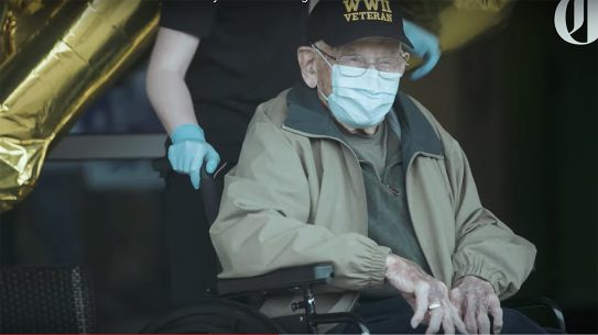 WWII vets Bill Kelly, 95, and William Lapschies, 104, survived the coronavirus in Oregon.