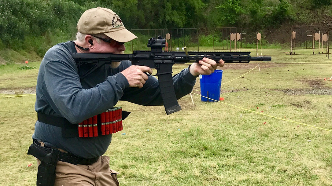 More than 60 competitors came together to shoot 3-gun after shelter in place orders in Oklahoma.