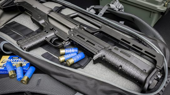 During home defense scenarios, the KelTec KS7 shined.