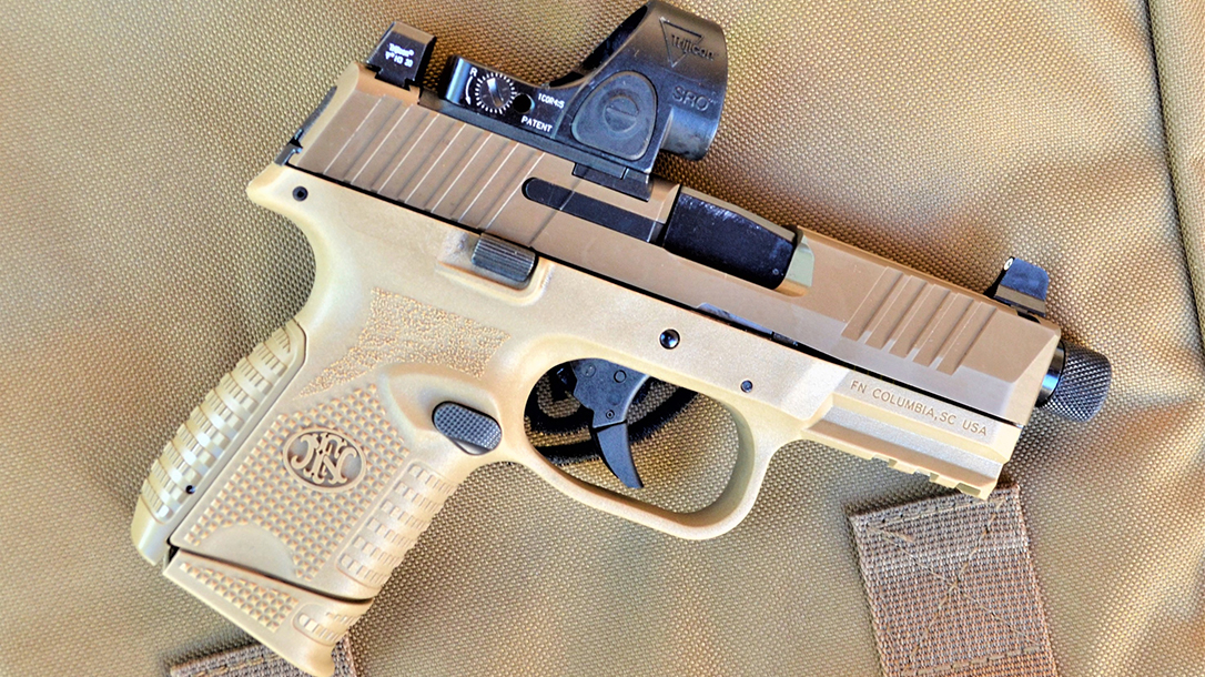 FN 509 Compact Tactical pistol review, lead