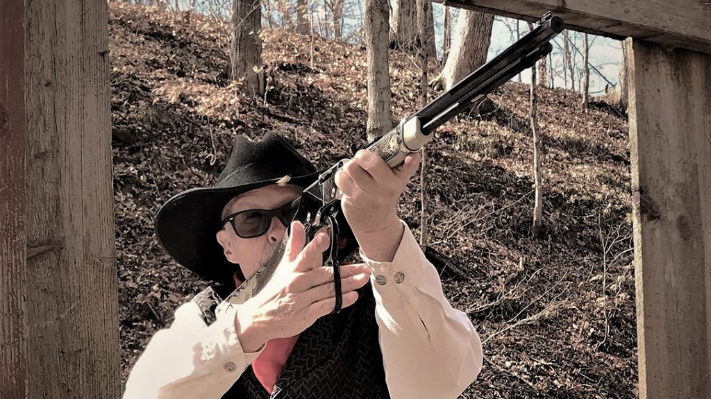 During field testing, the lever-action proved both fast and accurate.