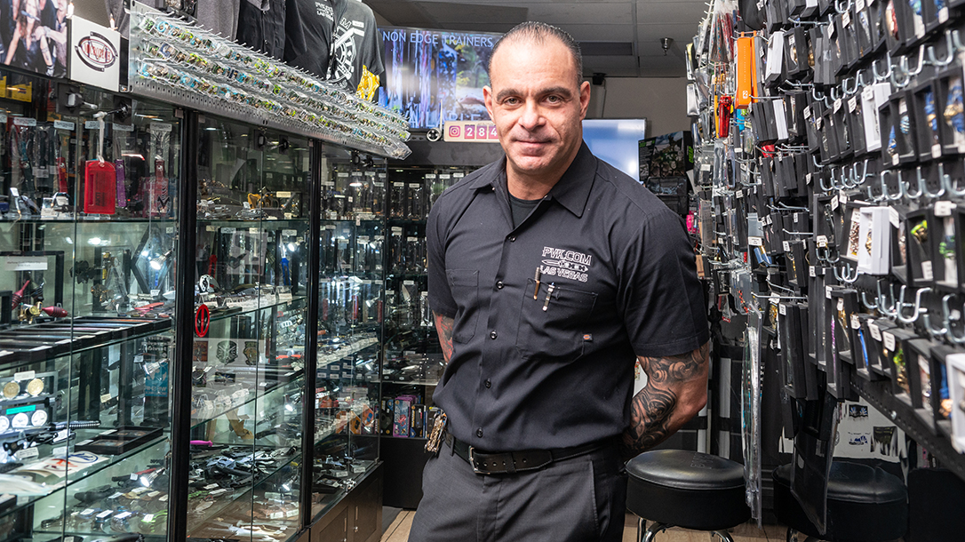 Owner Josh Burbank, a real knife guy, has built a massive business, becoming the largest dealer of Mirotech knives.