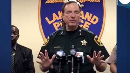 Polk County Sheriff Guns, Looters, George Floyd Riots