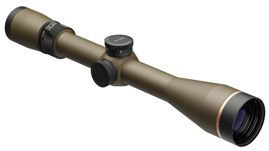 The Leupold VX-3i now features a burnt bronze finish.