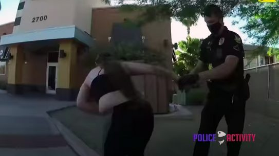 Phoenix police shot Jovana McCreary twice after she pulled a revolver and fired on officers.