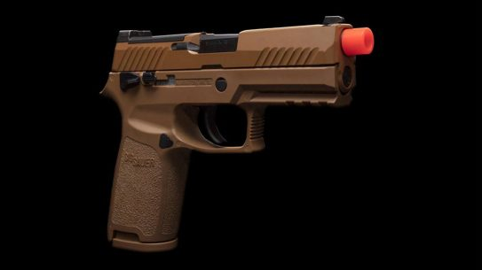 With a full blowback action, the SIG Air ProForce M18 provides a realistic trainer.