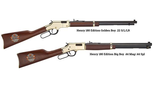 Henry will award 180 Edition rifles to drivers and fans at an upcoming NASCAR race.