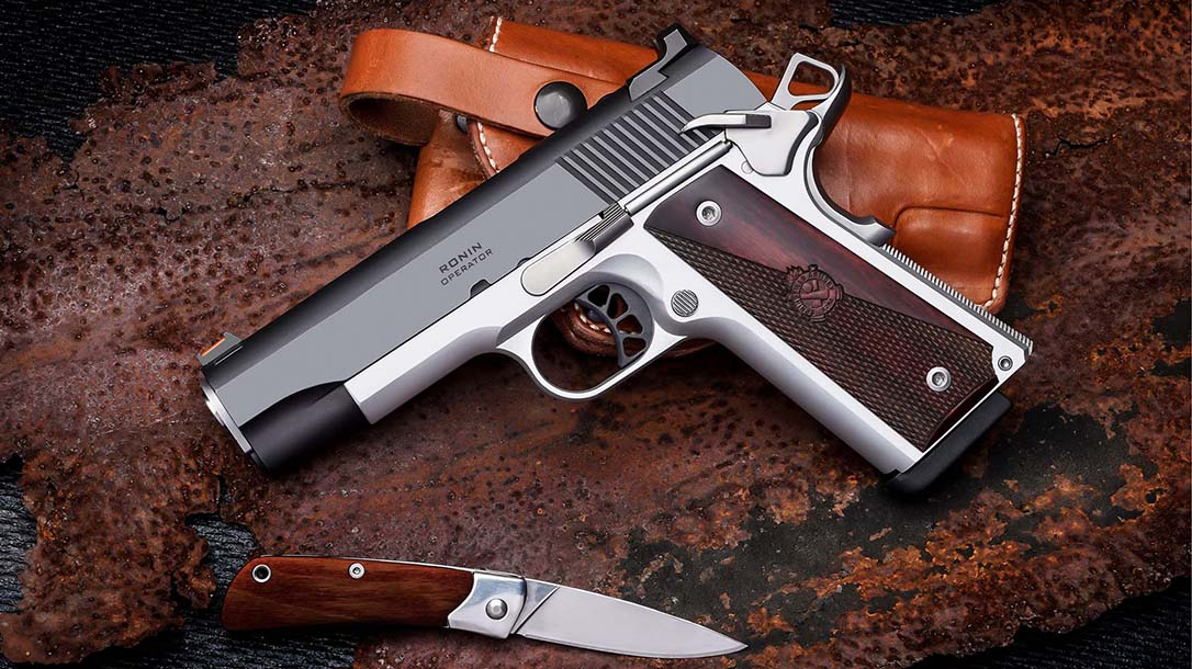 """The new Springfield Ronin Operator 4.25"""" comes in .45 and 9mm."""