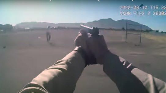 Las Vegas SWAT shot and killed a gunman, ending hostage situation.