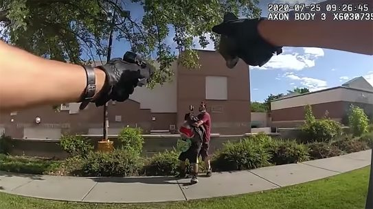Two Salt Lake police officers took incredible shots to save a hostage.