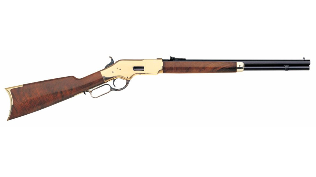 A man used his Uberti Yellowboy in .45 Colt to kill a 250-pound black bear.