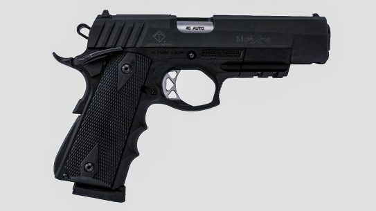The American Tactical FXH-M45 Moxie sports a hybrid design.
