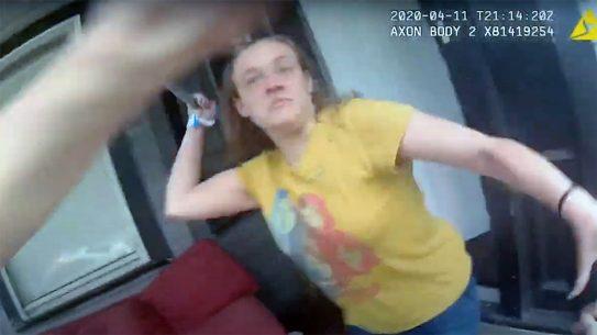 Leah Baker shooting, Jacksonville Police