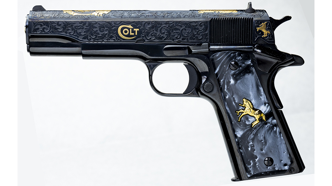 1911, Baron Engraving finish and scroll work make for an impressive package.
