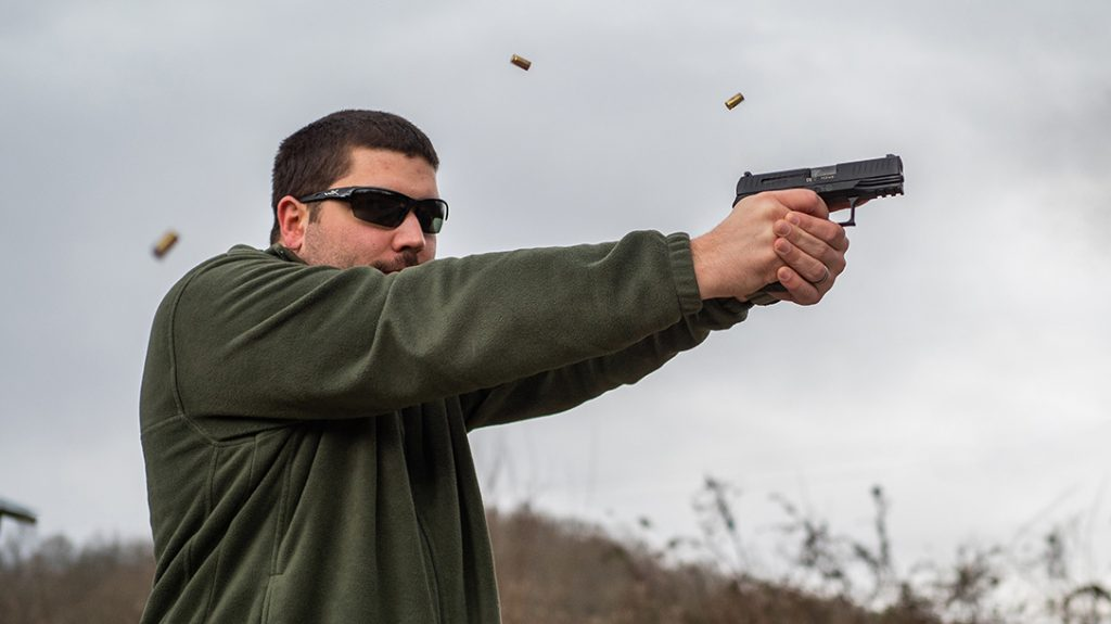 The author found the Walther Q4 Steel Frame extremely accurate during testing.