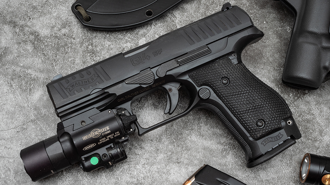 Walther Q4 Steel Frame, With its PPQ DNA and European styling, the Q4 SF is both an attractive and high-performance fighting pistol.