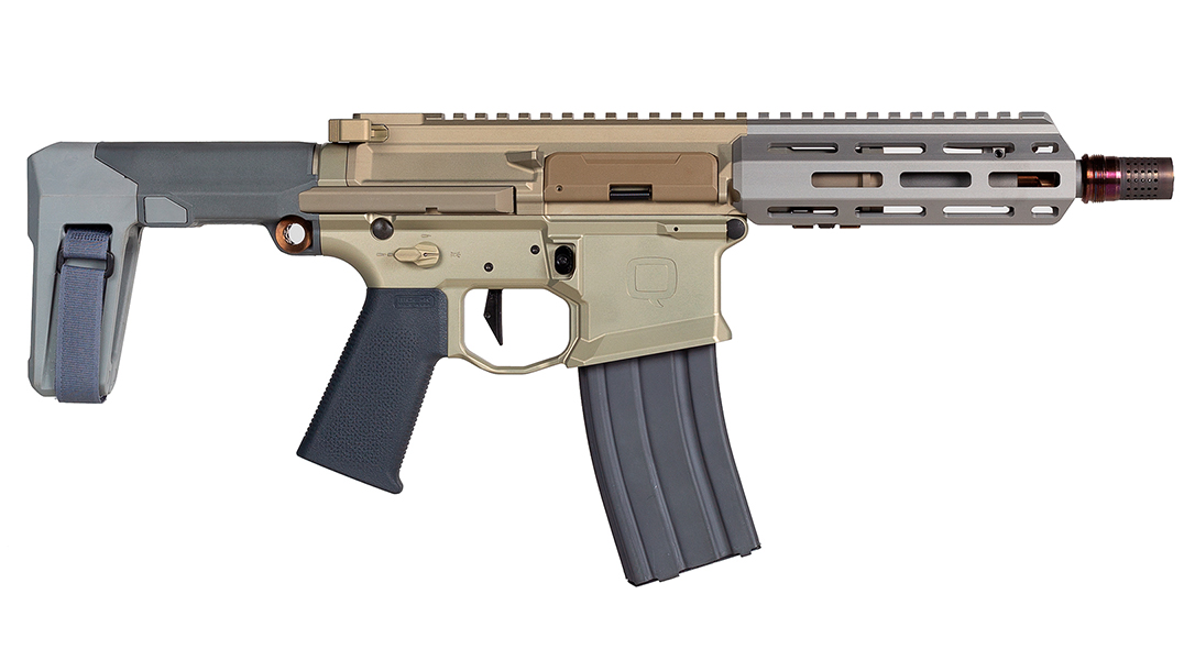 The ATF recently ruled the Q Honey Badger Pistol an SBR.