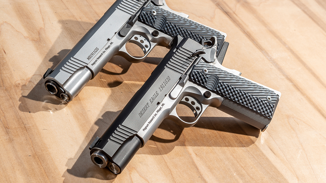 Magnum Research Inc. (MRI) imports these guns from Israel where they are manufactured by BUL Limited.