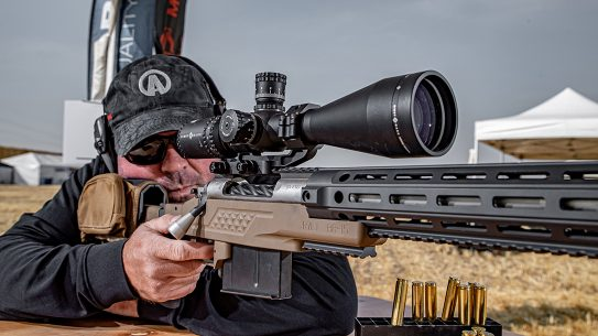 Sightmark Latitude Rifle Scope testing, lead