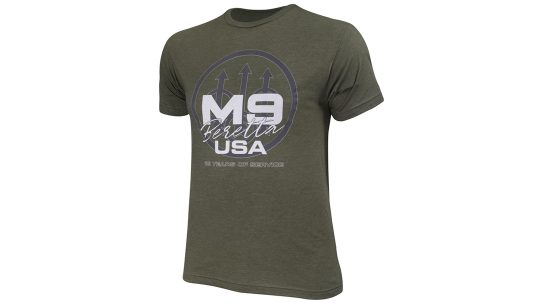 A limited-edition Beretta M9 T-shirt will benefit Folds of Honor.