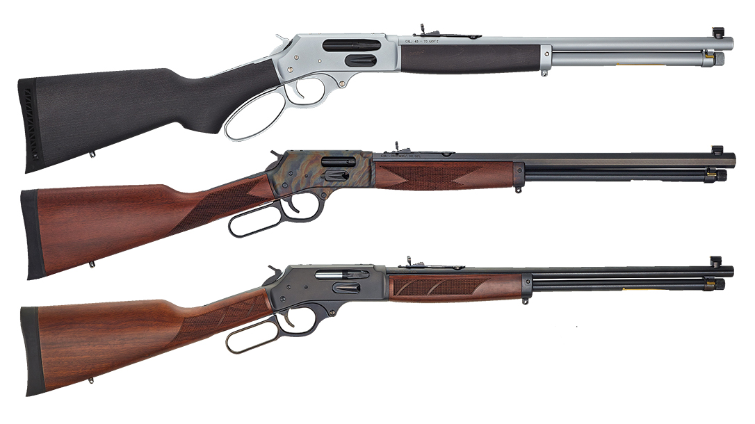 Henry adds side loading gates to all centerfire steel framed rifle lines.