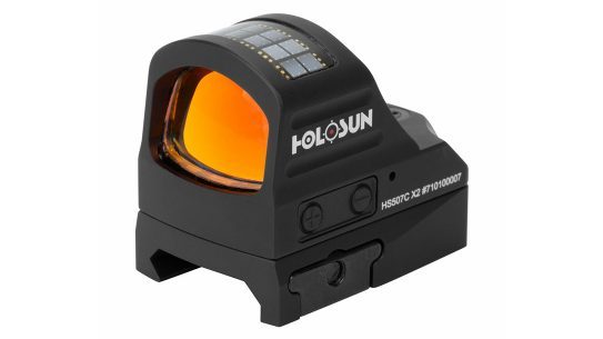The Holosun X2 series of pistol optics features updated technologies to make for easier use afield.