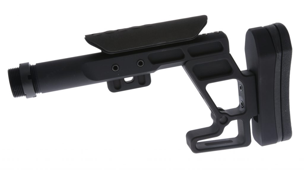 The Rival Arms ST-3X was designed specifically to work with bolt-action chassis systems.
