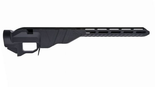 The Rival Arms R-700 Precision Chassis fits short-action Remington 700 actions.