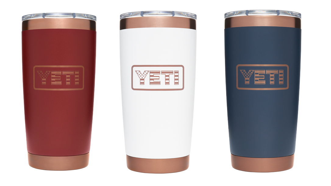 Each Yeti Folds of Honor Rambler sale will send $5 to help Veteran families.