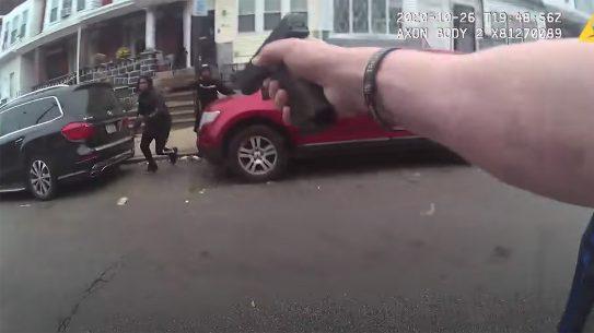Walter Wallace Shooting, Philadelphia Police body cam