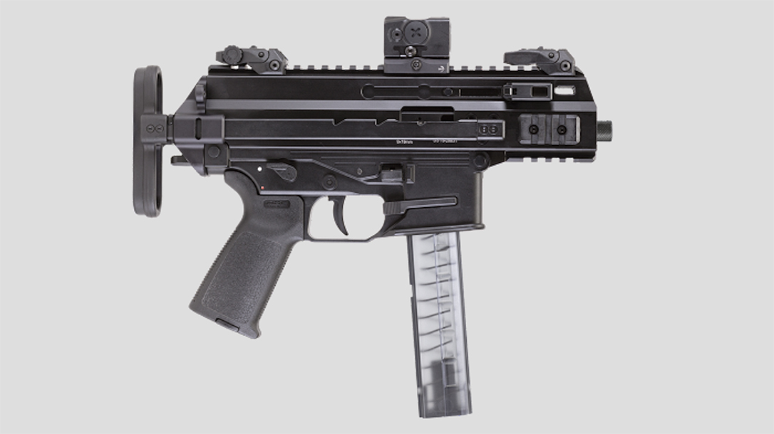The U.S. Air Force became the second service to select the B&T APC9K Pro sub-compact weapon system.