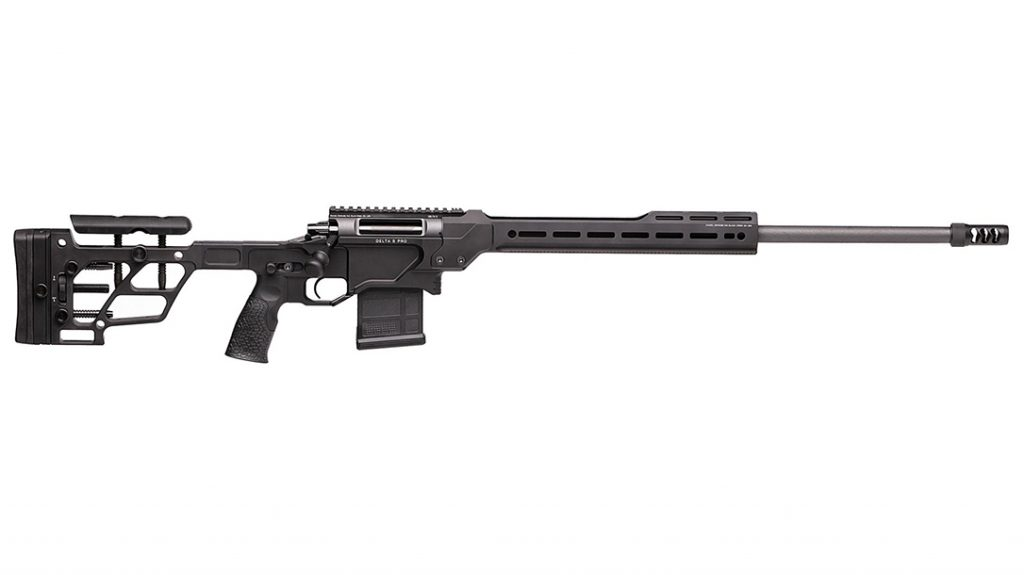 Built to compete in PRS, the Daniel Defense Delta 5 Pro comes well appointed.