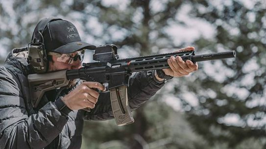 The integrally suppressed Gemtech Integra 15-22 turns the S&W M&P15-22 into a stealthy sporter.
