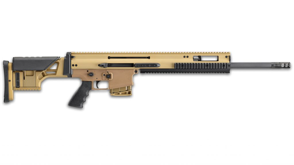 Chambered in 6.5 Creedmoor, the FN SCAR 20S brings precision to a fighting rifle platform.