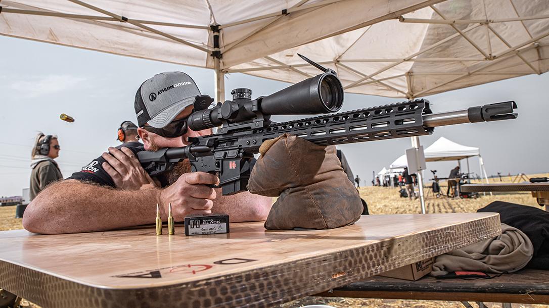 Hornady 6mm ARC ammo test, rendezvous, reup