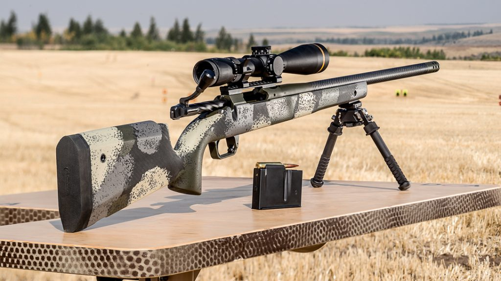 The Springfield Armory Model 2020 Waypoint comprises the company's first ever hunting bolt-action rifle.