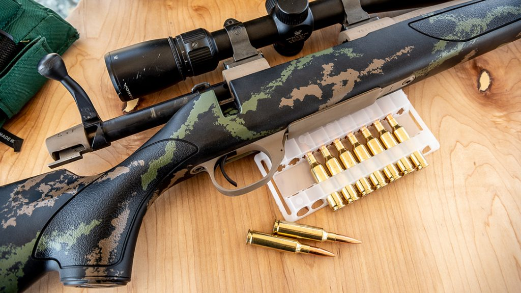 The author was able to achieve incredible accuracy from the new Weatherby Vanguard High Country during testing.