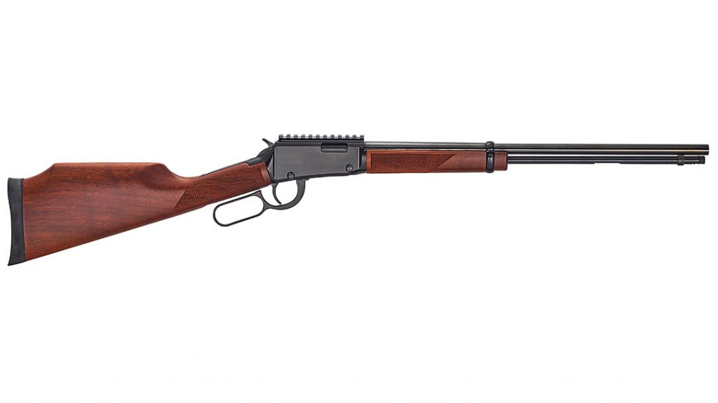 Henry Hunting Guns, Henry Lever Action Magnum Express .22 Mag is built for use with optics for small game and varmint hunting.