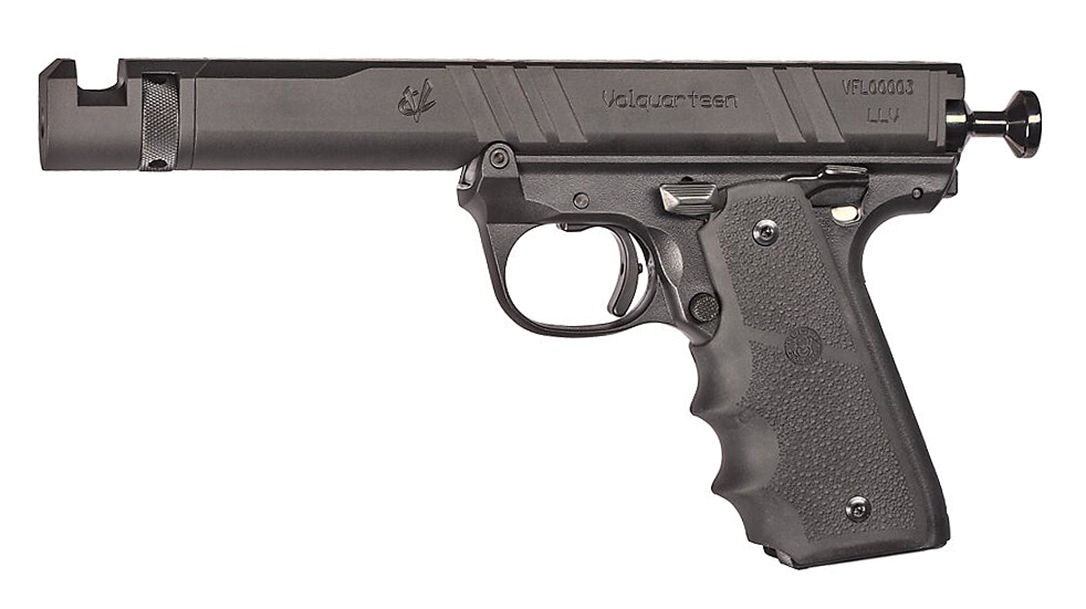The Volquartsen Mamba-X is built for rimfire competition.