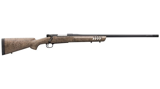 The Winchester Model 70 Long Range MB is built for hunting or competition.