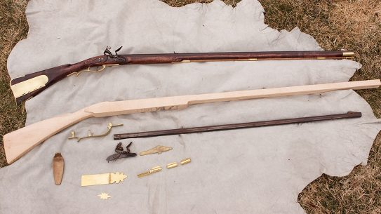 Flintlock Rifle Kits, how to build a diy flintlock rifle
