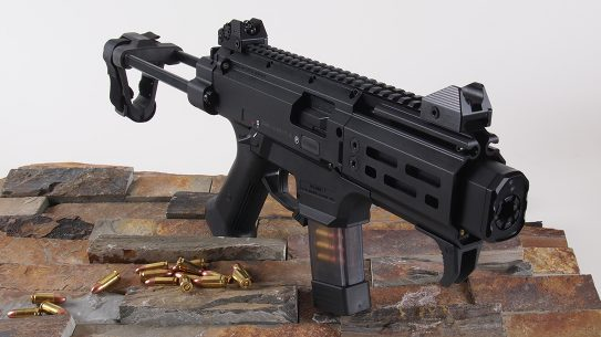The latest in the Scorpion line, the EVO 3 delivers many PDW features without the NFA status.