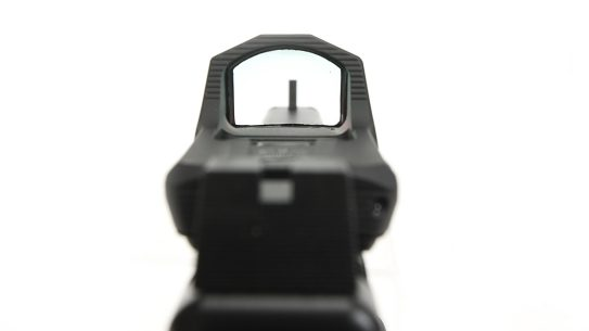 HEX Optics Dragonfly red dot, pistol view
