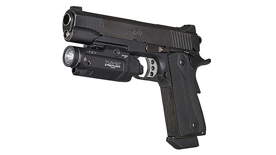 Pushing 1,000 lumens of white light, the Streamlight TLR-10 serves tactical operator needs.