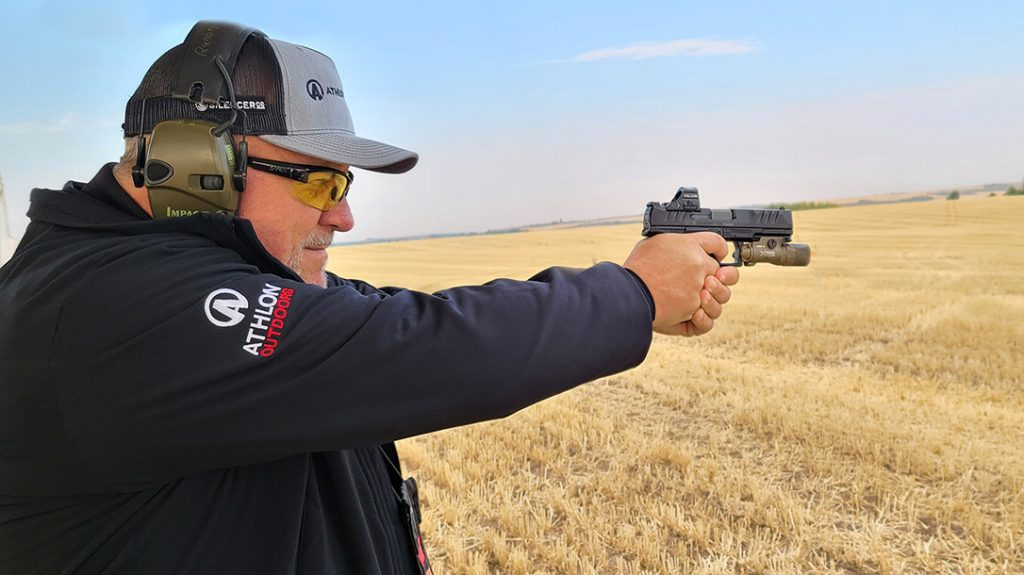 The Walther PDP full size proved accurate and reliable during testing.